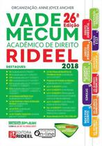 Vade Mecum Academico de Direito Rideel 2018 -