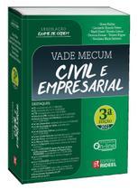 Vade Mecum Civil e Empresarial - Legislação Exame de Ordem - 3ª Edição (2021) - Rideel