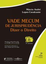 Vade Mecum De Jurisprudencia - Dizer O Direito - Juspodivm 7 Ed - Editora Juridica Da Bahia Ltda