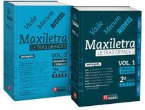 Vade Mecum Maxiletra Rideel – Letras Grandes - 2 Volumes - 2ª Edição (2020) -