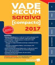 Vade Mecum Saraiva Compacto - 2017 - 18 Ed -