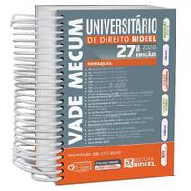 Vade Mecum Universitário de Direito Rideel - 27ª Edição (2020) -