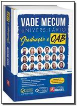Vade Mecum Universitário Graduação e OAB (Vade Carinhas) - Rideel -