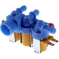 Válvula 3 Vias 110V Original Lavadora Electrolux LBU15/LUC10 - 64500918 -
