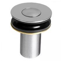 Válvula de Escoamento para Lavatório Click Up Compace Cromado -