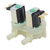 Válvula Dupla compatível Lavadora CWC24A 220v 97640610000 - Emicol