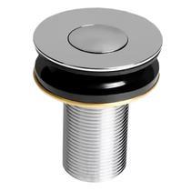 """Válvula P/Lavatório Click Up 1""""b (2,6cm) V02 Metal Cromado - Compace"""