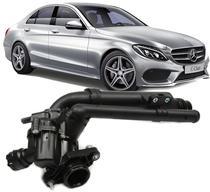 Valvula Termostatica Mercedes Benz C180 Cgi 1.6 Turbo C200 2.0 Turbo E 2011 À 2020 - Hd Imports