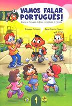 Vamos Falar Português! 1 - Ensino De Português Do Brasil Como Língua Herança - Livro - CD De Áudio - Hub Editorial