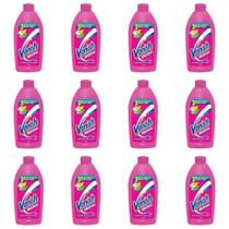 Vanish S/ Cloro Alvejante Líquido 500ml (Kit C/12) -