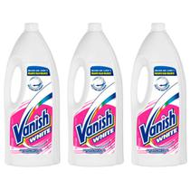 Vanish White Alvejante Líquido 1,5 L (Kit C/03) -