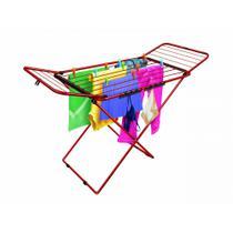 Varal De Chão  Com Abas Bari 88x123x56cm Color Secalux -
