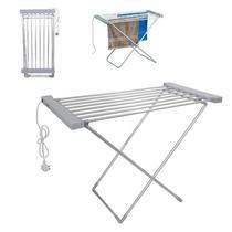 Varal de chao dobravel 220v aquecido secador de roupas quente eletrico aquecedor barbearia - Makeda