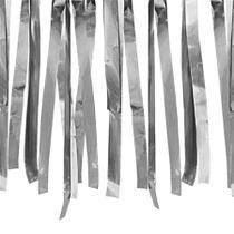 Varal de Fitas Metalizadas Prata 10 metros - festabox