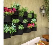 Vaso de Parede Japi Línea 20x50 Floreira Jardinagem Vertical -