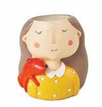 Vaso Girl Love Animals - Mart