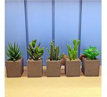 Vaso planta artificial - 4496 onyx - Onix