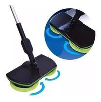 Vassoura Elétrica Recarregável Limpa Piso/chão/parede - Spin Maiden