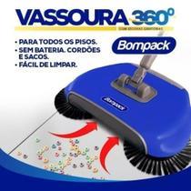 Vassoura Mágica Bompack 360º 3 Em 1 Rápido E Fácil Limpeza -