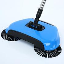 Vassoura Magica Com 3 Escovas Giratorias Cabo Alumínio - Mop Limp