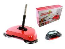 Vassoura magica inteligente 3 em 1 aspirador de pó manual com dispenser easy clean dobravel - Makeda