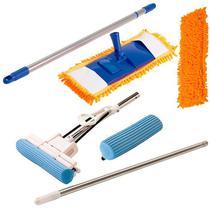 Vassoura Mop C/ Refil, Rodo Mágico 27 C/ 1  Refil Extra - Vendasshop Utensilios De Limpeza