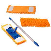 Vassoura Mop Tira Pó 44 Cm Chenille C/ 2 Refil Bompack - Vendasshop Utensilios De Limpeza