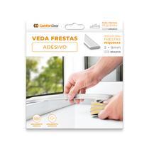 Veda Fresta I Vão Porta Janela Moveis Adesivo Vedante Branco 2x9mm x 6mt - Comfortdoor