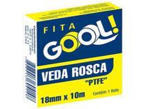 Veda Rosca 18 mm x 10 m Gool com 120 - Comprenet -