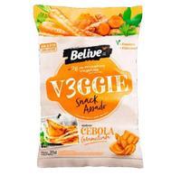 Veggie Snack BeLive Sabor Cebola Caramelizada 35g - Goodsoy