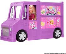 Veiculo Barbie - Freshn Fun Food Truck MATTEL -