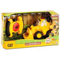 Veículo Com Controle Remoto - Cat Ez Machines - Escavadeira - Dtc -