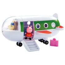 Veiculo com Mini Figura - Peppa Pig - Aviao DTC -