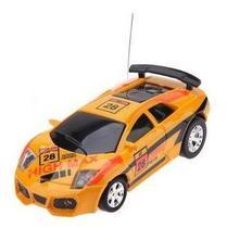 Veículo De Controle Remoto  Lata Racing  Laranja  Dtc -
