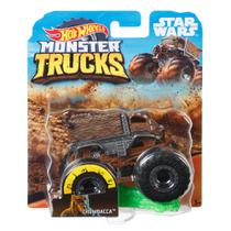 Veículo Die Cast - Hot Wheels - 1:64 - Monster Trucks - Chewbacca - Mattel