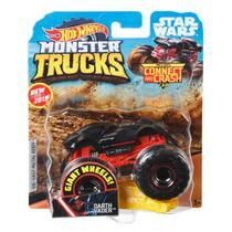 Veículo Die Cast - Hot Wheels - 1:64 - Monster Trucks - Darth Vader - Mattel