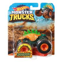 Veículo Die Cast - Hot Wheels - 1:64 - Monster Trucks - Motosaurus - Mattel