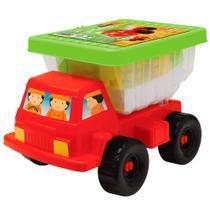 Veículo e Blocos de Encaixe - Mini Basculante - Smoby - Gulliver -