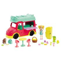 Veículo e Boneca Polly Pocket Food Truck Refresco GDM20 - Mattel -