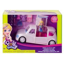 Veículo e Boneca - Polly Pocket - Limosine de Luxo - Mattel -