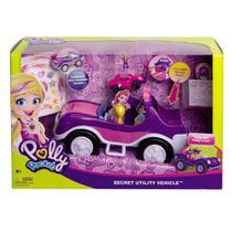 Veículo e Boneca - Polly Pocket - Polly e Veículo Secreto - Mattel -