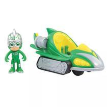 Veículo e Figura - PJ Masks - Speed Booster - Lagartixomóvel - Dtc -