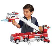 Veículo e Mini Figura - Caminhão de Bombeiro - Resgate Extremo - Patrulha Canina - Sunny -
