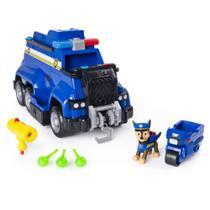 Veículo e Mini Figura - Carro de Polícia - Resgate Extremo - Patrulha Canina - Sunny -