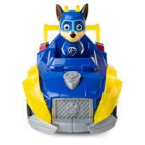 Veículo e Mini Figuras - Patrulha Canina - Mighty Pups - Super Paws - Deluxe - Chase - Sunny -