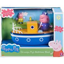 Veículo e Mini Figuras Peppa Pig Barco do Vovô Pig Sunny -