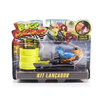 Veículo e Pista com Lançador Bugs Racing Dash - DTC -