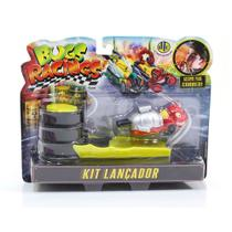 Veículo e Pista de Percurso Bugs Racing Lançador Antrax - DTC -