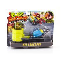 Veículo e Pista de Percurso - Bugs Racing - Lançador - Blast - DTC -