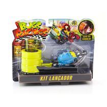 Veículo e Pista de Percurso Bugs Racing Lançador Blast - DTC -